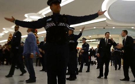 Children-in-Need_security guard flashmob