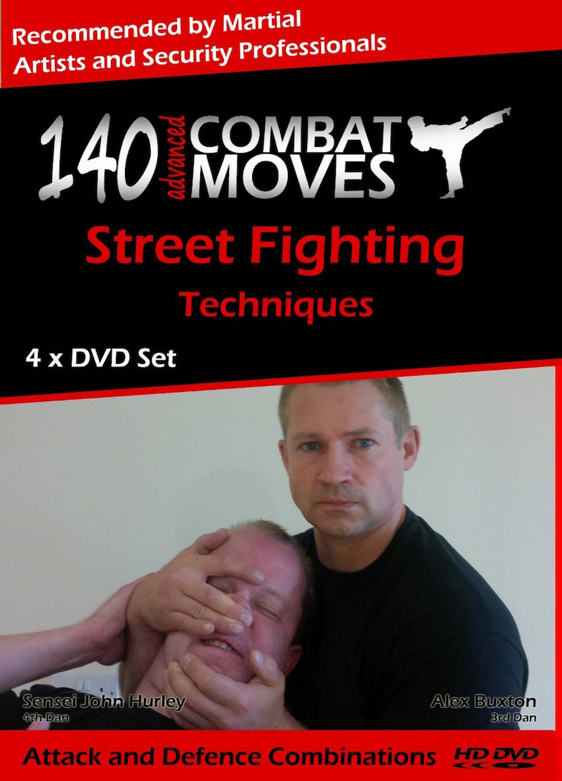 Self Defence For The Streets Advanced – 8 DVD Training Set , Learn Knife Defense, Survive A Ground Attack, Knife Attack, Firearm Attack & Close Quarter Attack