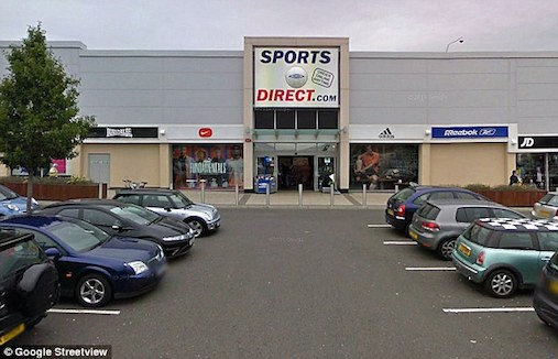 sports direct security guard investigation