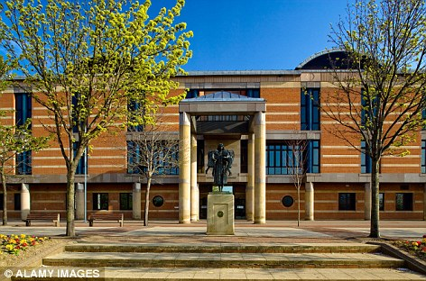 eeside crown court - security guard attack