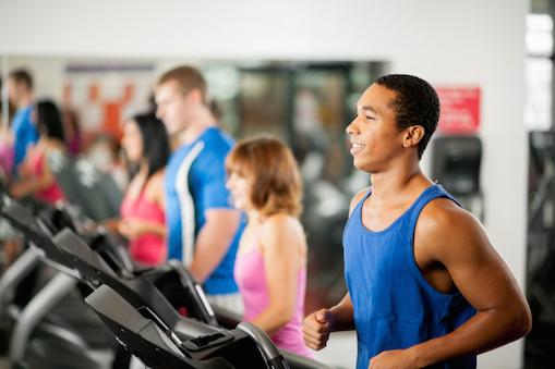 Bouncer fitness - cardiovascular workout